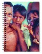 Balinese Gothic - Paint Spiral Notebook