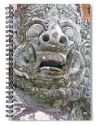 Balinese Temple Guardian Spiral Notebook