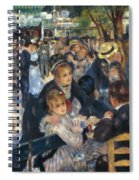 Ball At The Moulin De La Galette 1876 Spiral Notebook