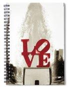 Ball Of Love Spiral Notebook
