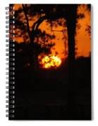 Ball Of Sun Spiral Notebook