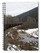 Ballast Train Spiral Notebook
