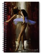 Ballerina 0xd09 Spiral Notebook