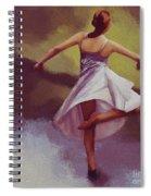 Ballerina Dance 0391 Spiral Notebook