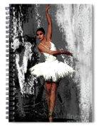 Ballerina Dance 073 Spiral Notebook