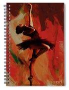 Ballerina Dance 0800 Spiral Notebook