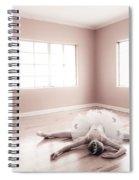 Ballerina Down Spiral Notebook