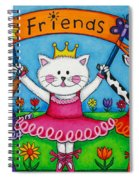 Ballerina Friends Spiral Notebook