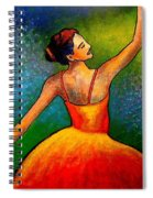Ballerina Spiral Notebook