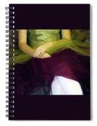 Ballerina Lap Spiral Notebook