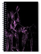 Ballet Before The Curtain Rises  Spiral Notebook
