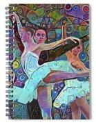 Ballet Carnival Spiral Notebook