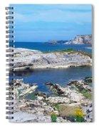 Ballintoy Harbour, Co Antrim, Ireland Spiral Notebook