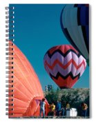 Ballon Launch Spiral Notebook