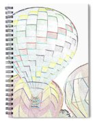 Balloon Day Spiral Notebook