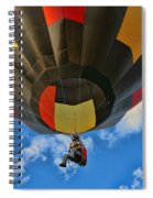 Balloon Fantasy 28 Spiral Notebook
