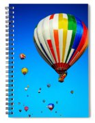 Balloon Festival Spiral Notebook