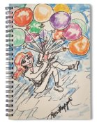 Balloon Flight  Spiral Notebook