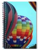 Balloon Glow I Spiral Notebook
