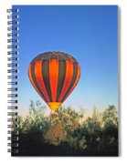 Balloon Launch Spiral Notebook