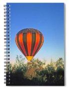 Balloon Launch Spiral Notebook