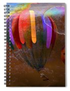 Balloon Race Spiral Notebook
