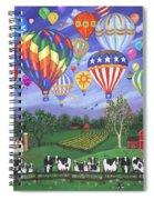 Balloon Race Two Spiral Notebook