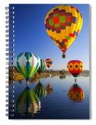 Balloon Reflections Spiral Notebook