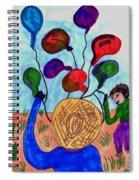 Balloon Sales Spiral Notebook