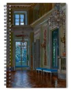 Ballroom Of The Lazienki Palace Spiral Notebook