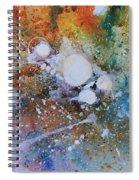Balls Of Light Spiral Notebook