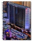 Bally's Hotel, Las Vegas Spiral Notebook