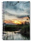 Balmorhea Sunset Spiral Notebook