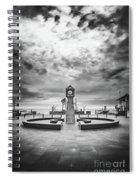 Baltic Sea Ruegen - Seaside Resort Binz Spiral Notebook
