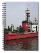 Baltimore Fire Boat 2003 Spiral Notebook