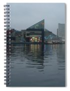 Baltimore Harbor Reflection Spiral Notebook