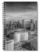 Baltimore Landscape - Bromo Seltzer Arts Tower Spiral Notebook