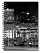 Baltimore Lights Up Brightly Spiral Notebook