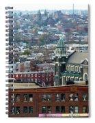 Baltimore Rooftops Spiral Notebook