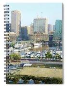 Baltimore's Inner Harbor Spiral Notebook