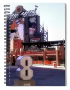 Baltimore's Yard Spiral Notebook