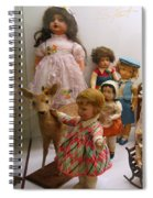 Bambi And Baby Spiral Notebook