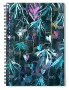 Bamboo And Butterflies Spiral Notebook