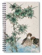 Bamboo And Chicken Spiral Notebook