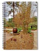 Bamboo At The Botanical Gardens Spiral Notebook