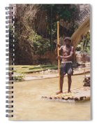 Bamboo Boat Spiral Notebook