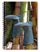 Bamboo Boots Spiral Notebook