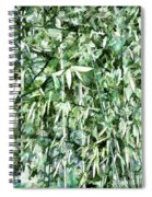 Bamboo Forest In South Carolina Spiral Notebook
