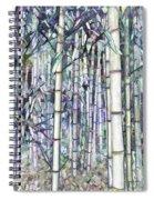Bamboo Grove Spiral Notebook
