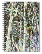 Bamboo Sprouts Forest Spiral Notebook